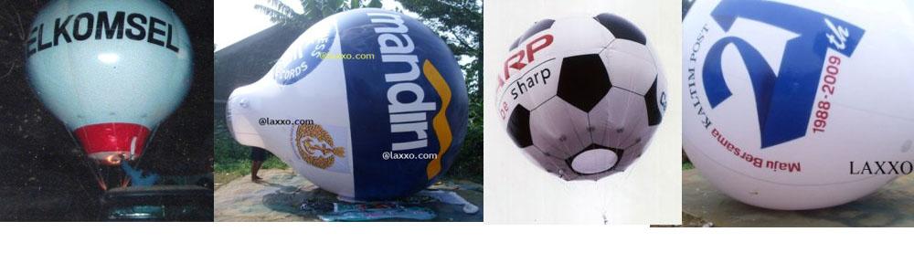 pabrik balon udara promosi bentuk oval bundar