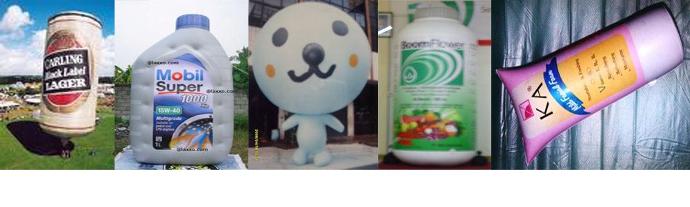 pabrik balon dummy produk karakter